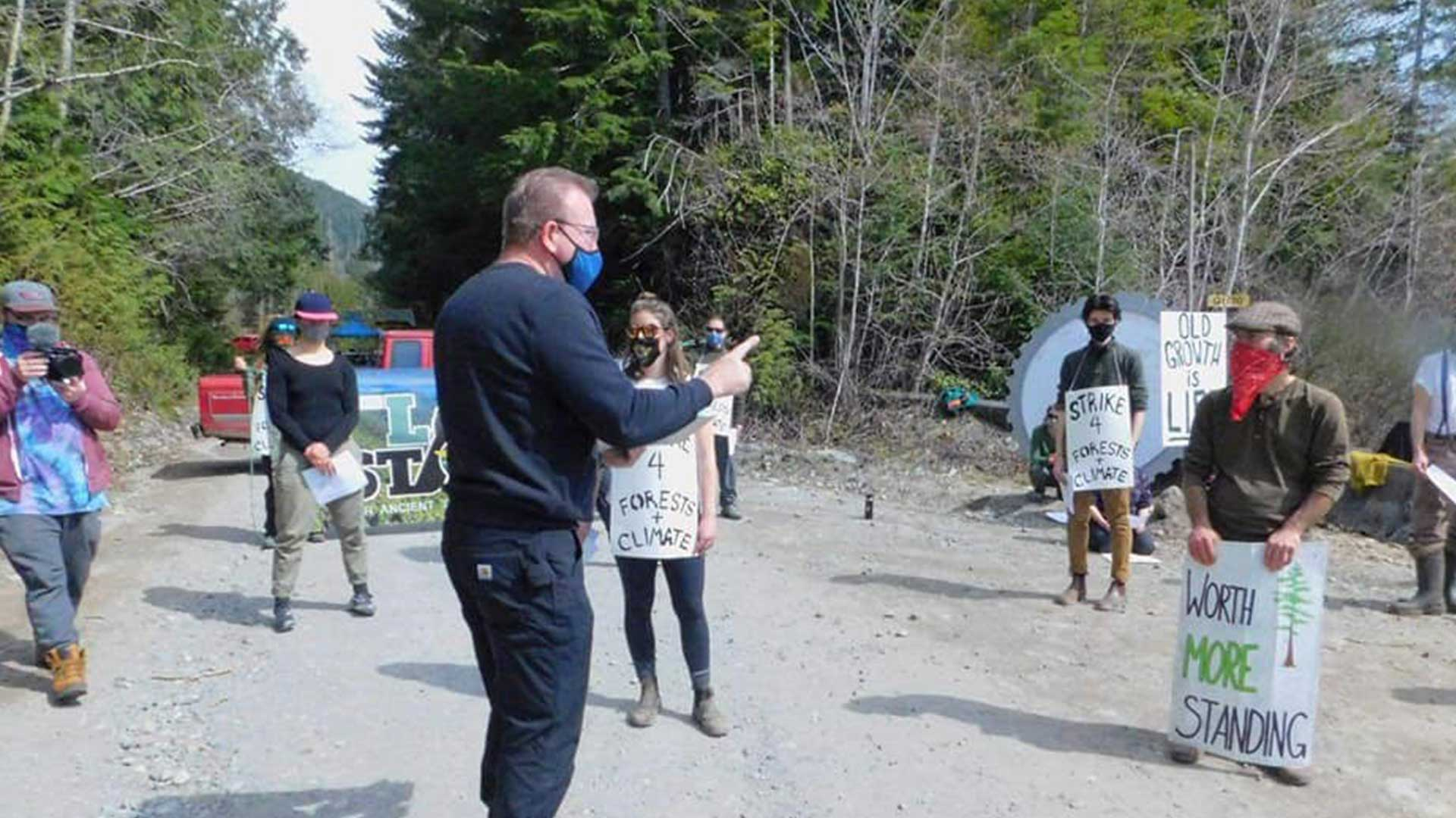 The fight over Fairy Creek on Vancouver Island intensifies after an injunction is granted