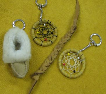 Some of the items produced by the Warkworth Institution 'Native crafts' workshop. Photo from CORCAN PowerPoint