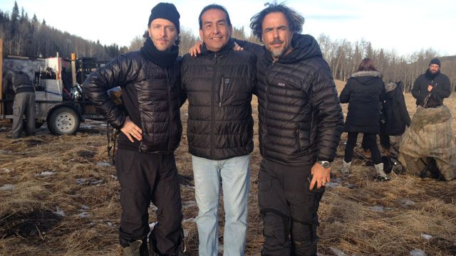 Falcon with director