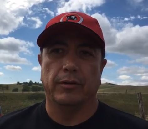 Standing Rock Tribal Chairman David Archambault in a still image from video statement.